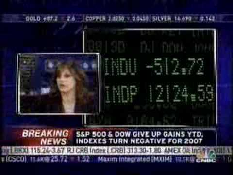 """Video: CNBC's Market Plunge Coverage"""