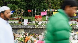New Zealand falls silent to remember Christchurch victims