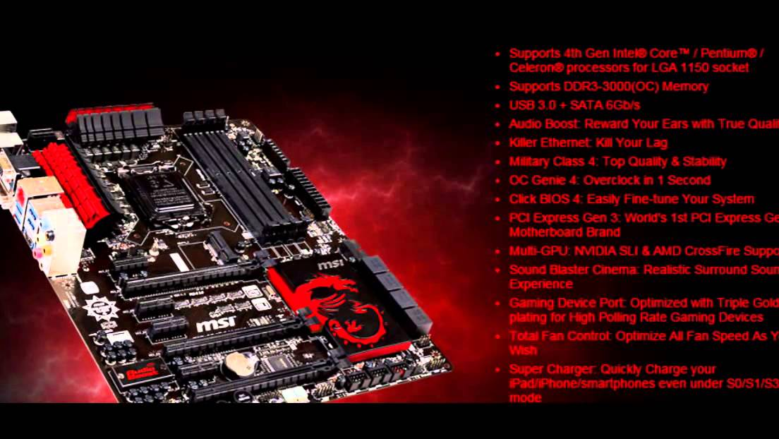 MSI Z87-GD65 Gaming Qualcomm Killer Network Drivers Download