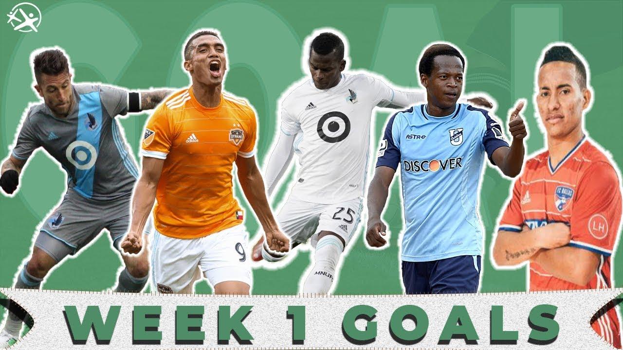 Top Week 1 MLS Goals