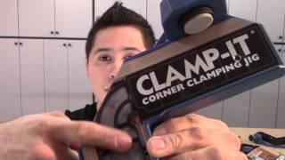 """Escuadra y prensas para cuadrar """"Clamp it"""""""
