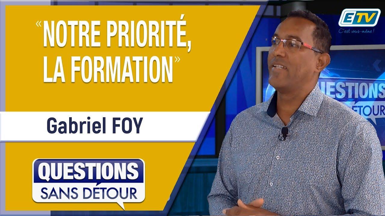 Questions Sans Détour avec Gabriel FOY