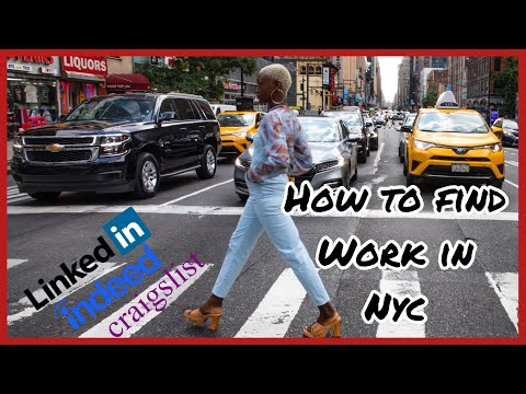 PT. 3 MOVING TO NYC   HOW TO FIND A JOB FAST IN NYC   JOB HUNTING