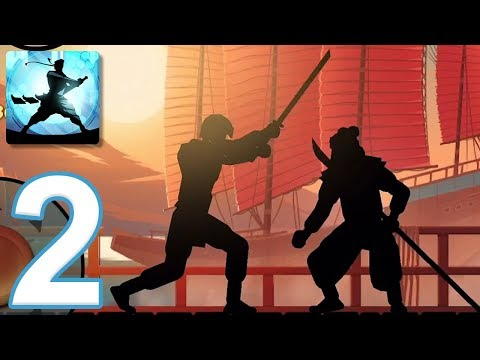 Shadow Fight 2 Special Edition - Gameplay Walkthrough Part 2 - Sensei's Story (iOS, Android)