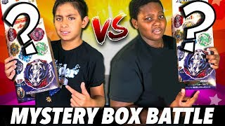 Beyblade Burst Mystery Box Battle! Random Booster Tournament