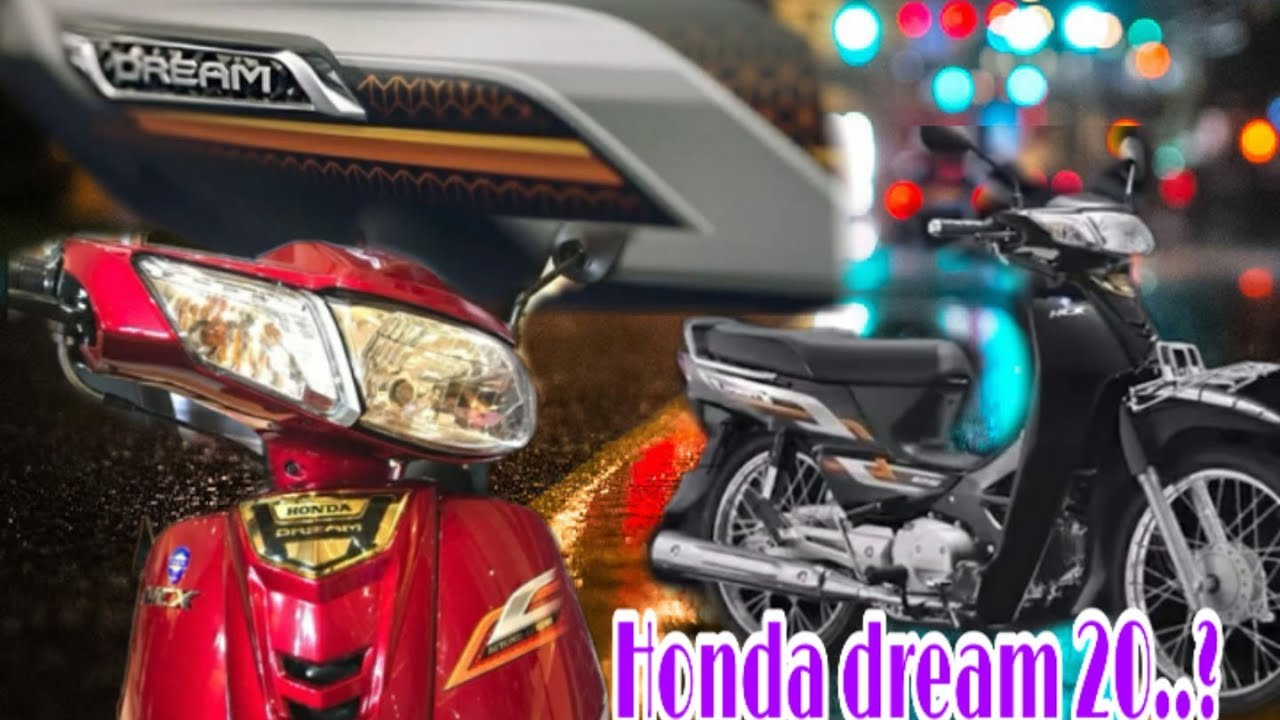 new product honda dream 2020 in cambodia