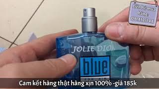 nước hoa blue nam nữ chính hãng 185k | shop mỹ phẩm trọng thủy