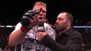 Brock Lesnar's angry speech