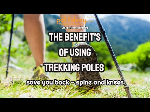 How to use Trekking Poles: Protect your joints