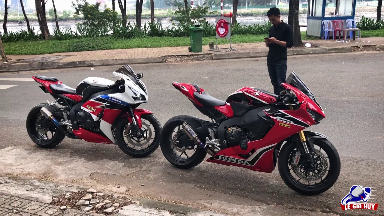 PKL – So sánh ngoại hình mô tô Honda CBR1000RR 2017 và 2016