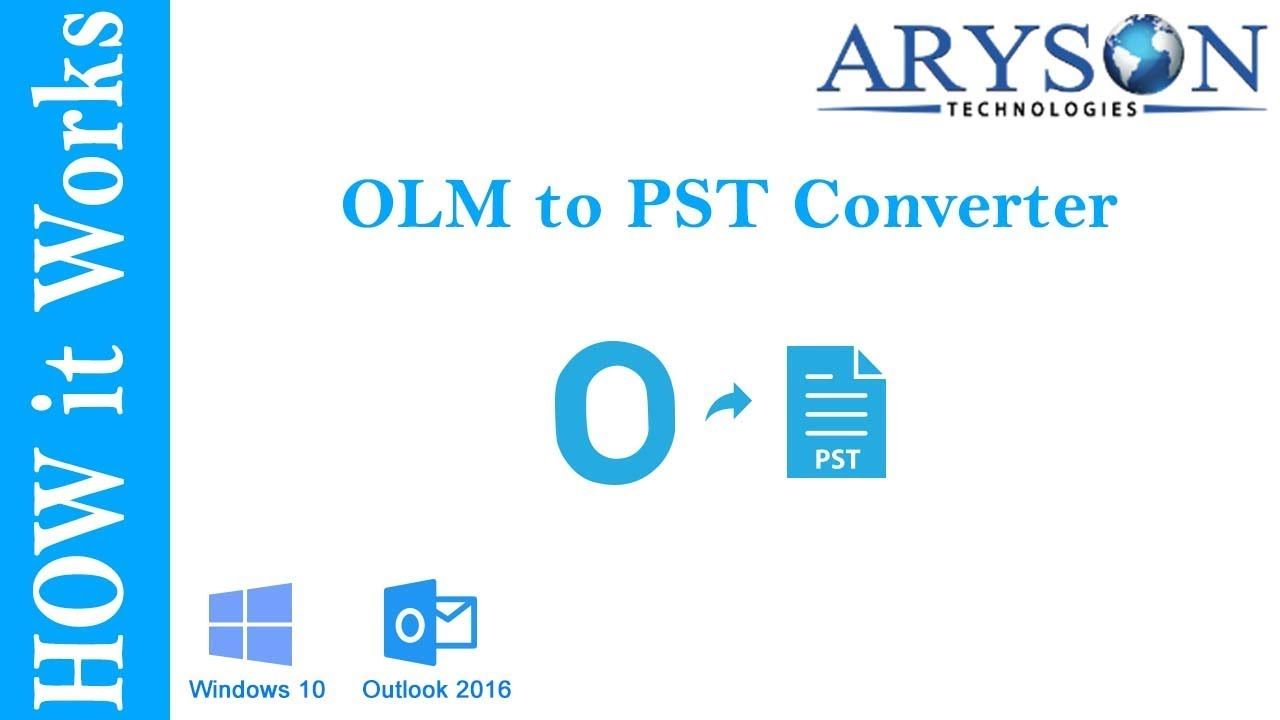 OLM to PST Tool to Open OLM File & Export Mac OLM to Windows Outlook