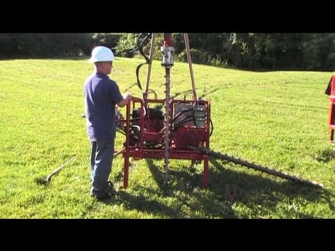 Mobile Drill V2000 Demonstration