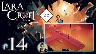 "LARA CROFT GO #14 - The Shard of Life [4/4] - ""Atak zwierząt"""
