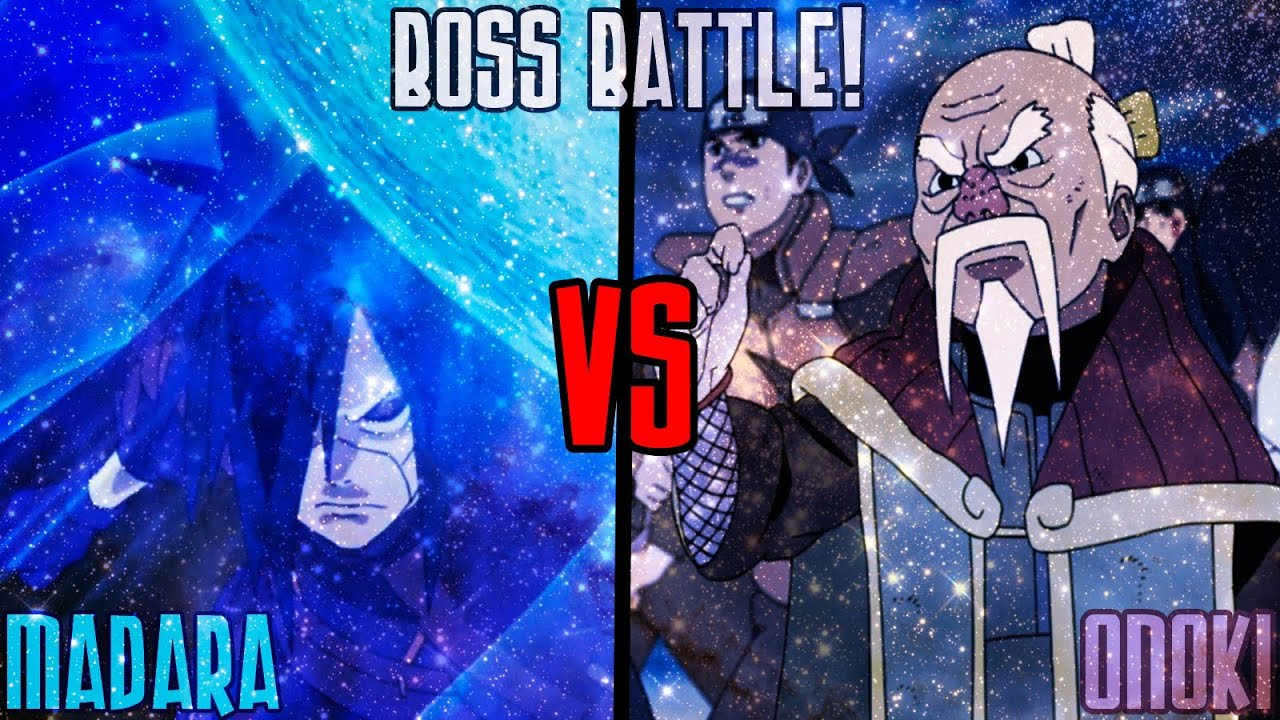 Naruto Shippuden Ultimate Ninja Storm 3 Madara vs Onoki ...