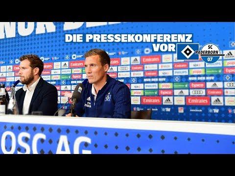 RELIVE: Die Pressekonferenz vor dem Heimspiel gegen den SC Paderborn