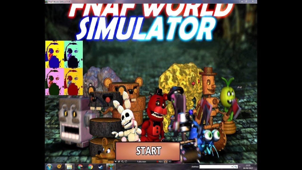 FNAF World simulator cheats