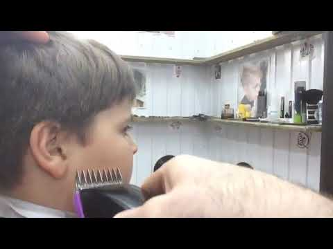 Стрижка для мальчиков видео уроки
