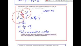 Trig 2.5 Circumscribed circles