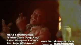Herty Borngreat - Christo Azonto (Ayeyi Asa) [Official Music Video]   GhanaMusic.com Video