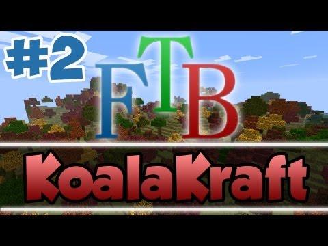 """KoalaKraft FTB Server- Episode 1: """"MK...TO THE RESCUE!!"""""""