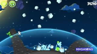 Angry Birds Space - Walkthrough 1-18 3 stars Pig Bang level guide how to get three star levels