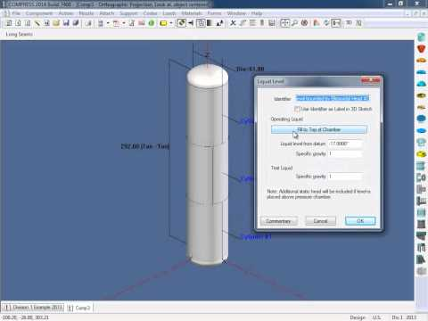 Compress Pressure Vessel Software Overview Youtube