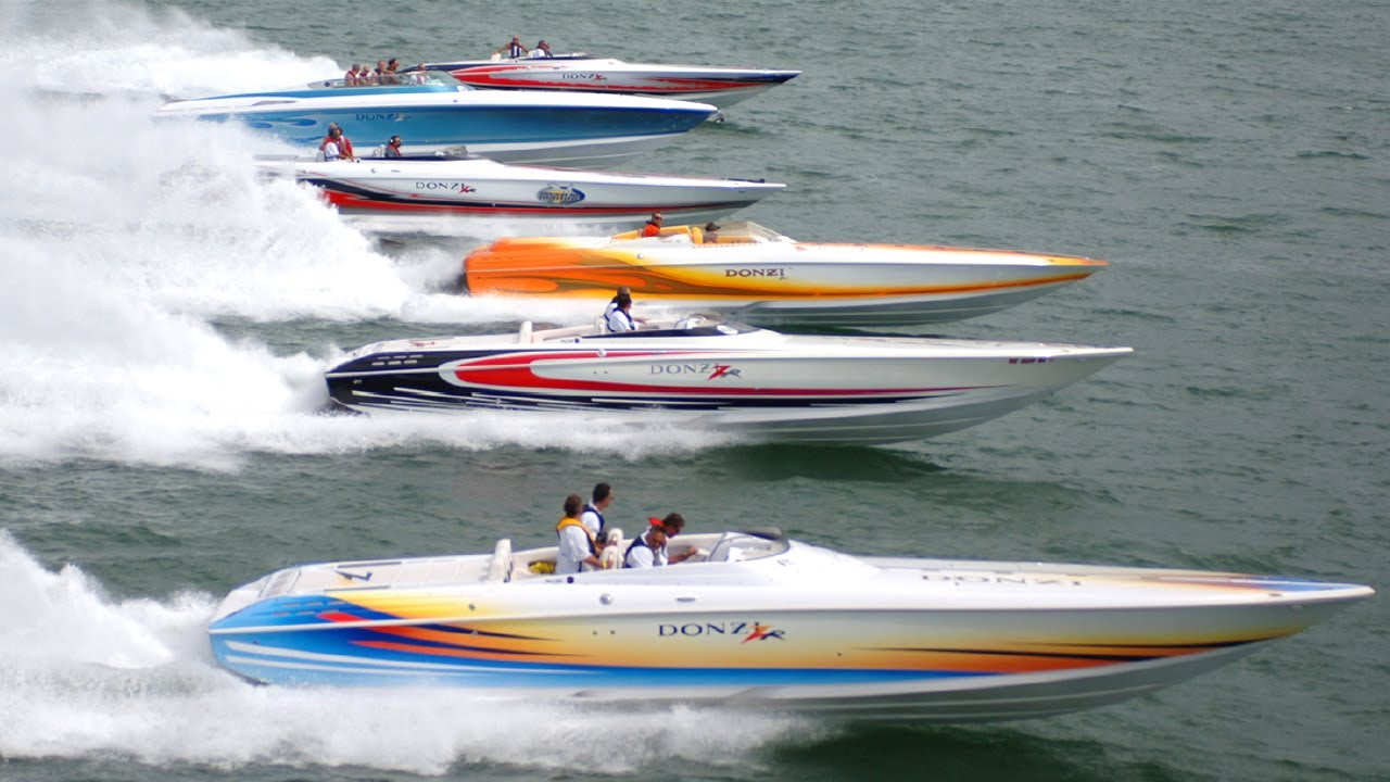 The Donzi ZR Powerboat line is Born!!