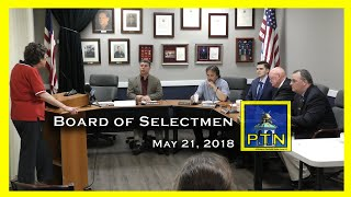 Pembroke Board of Selectmen- Memorial Day Prep, Herring Migration, and an appointment of Kyle Harney