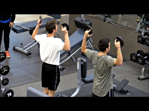 Copying Strangers Workouts In The Gym!!