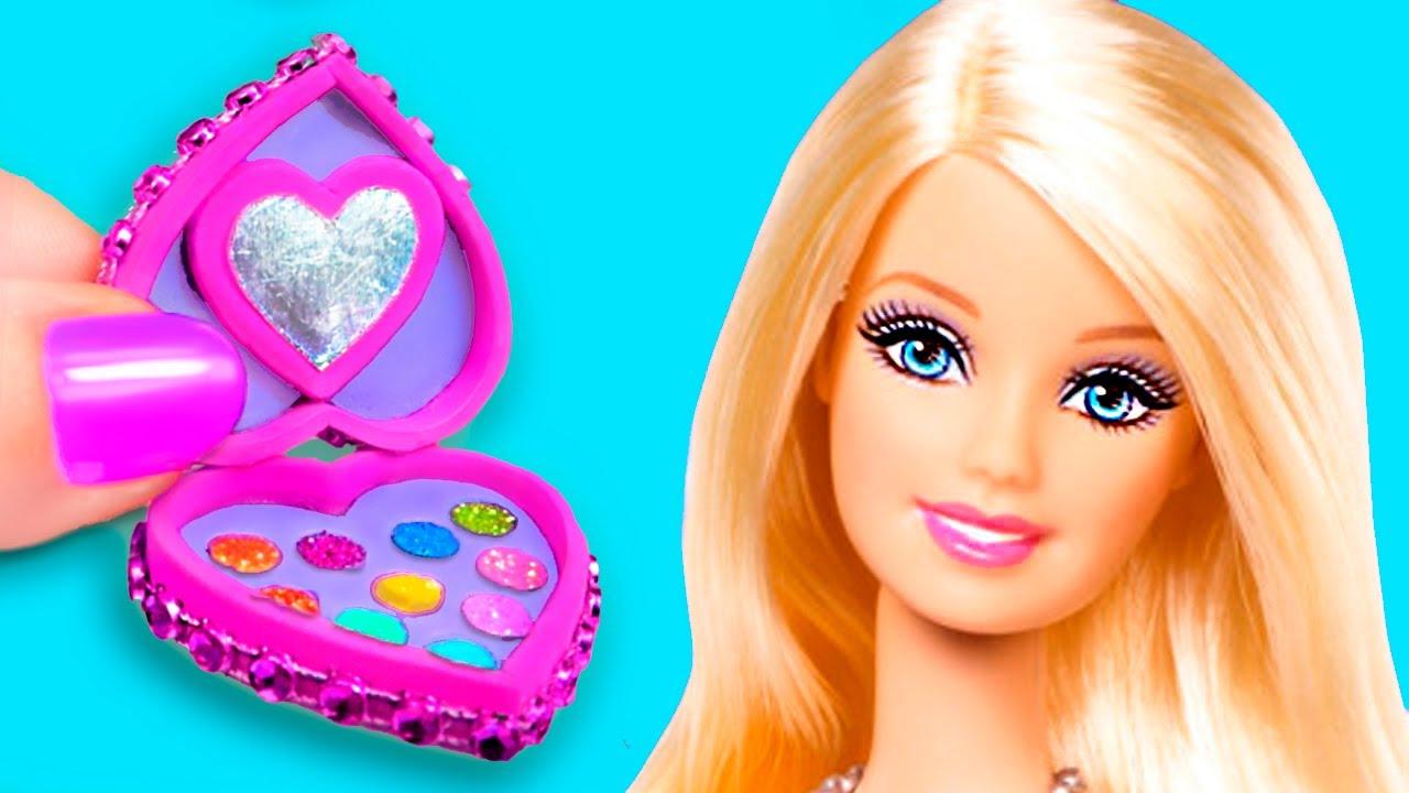 12 DIY BARBIE IDEAS ~ Hacks and Crafts for Barbie