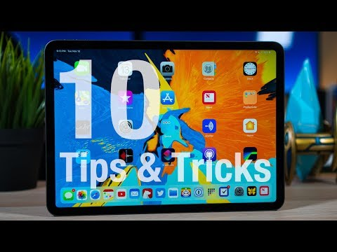 iPad Pro (2018) - 10 TIPS & TRICKS!