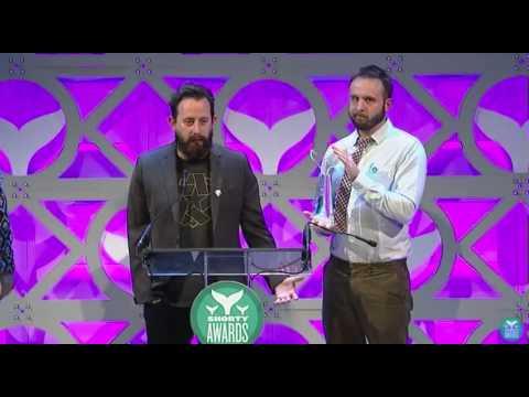 Shorty Awards - Geoff Ramsey & Bruce Greene - Rooster Teeth