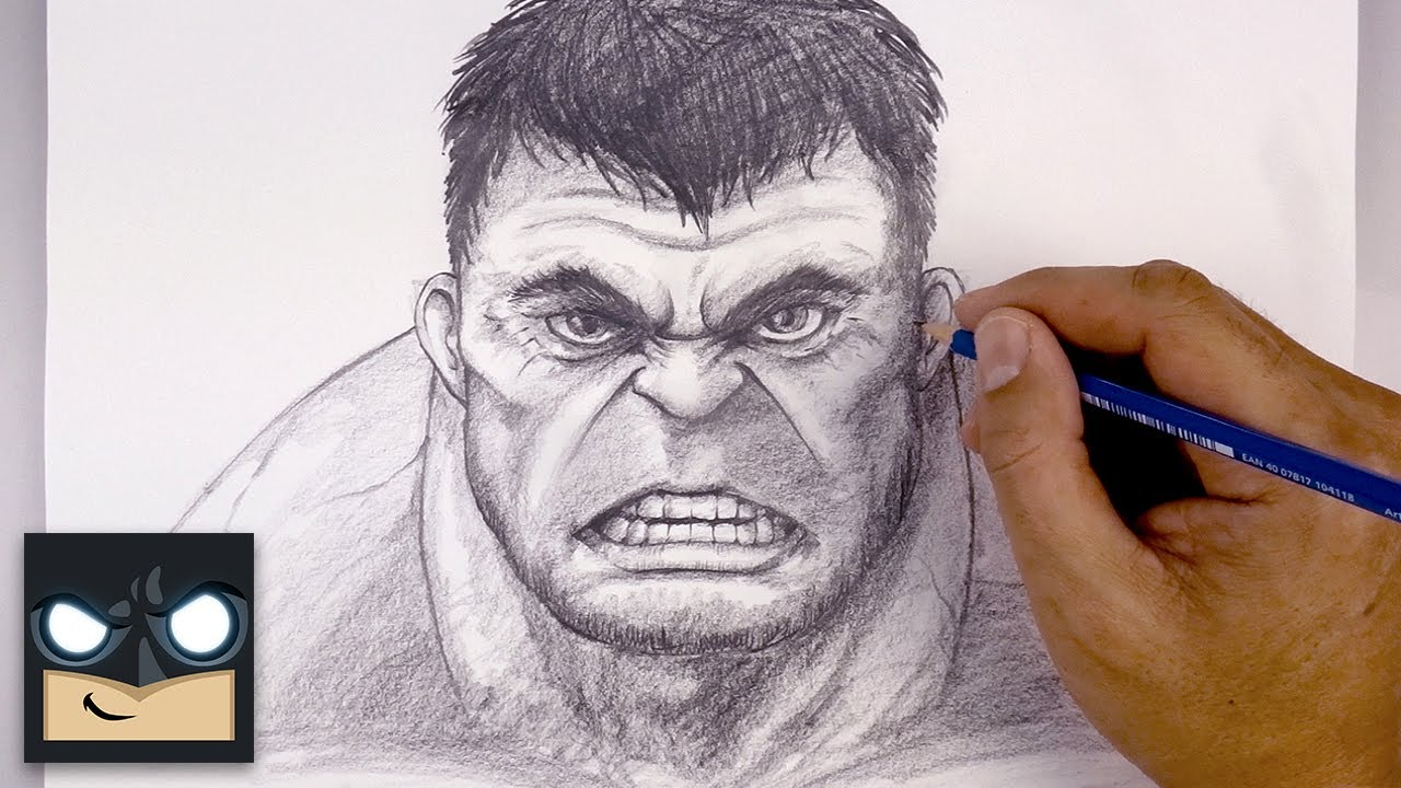 How To Draw The Hulk | Sketch Tutorial