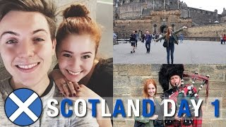 SCOTLAND DAY 1: Meeting Ben & Exploring Edinburgh!