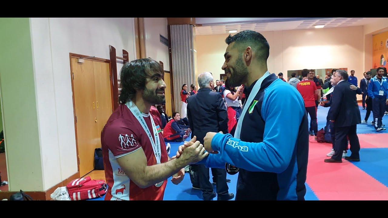 Rafael Aghayev vs Luigi Busa :: WKF Karate Male Kumite Final -75kg :: Belgrade 2010