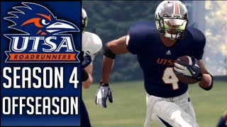NCAA Football 13 Dynasty (UTSA) - Offseason & Season 5 Preview (Edited Version)
