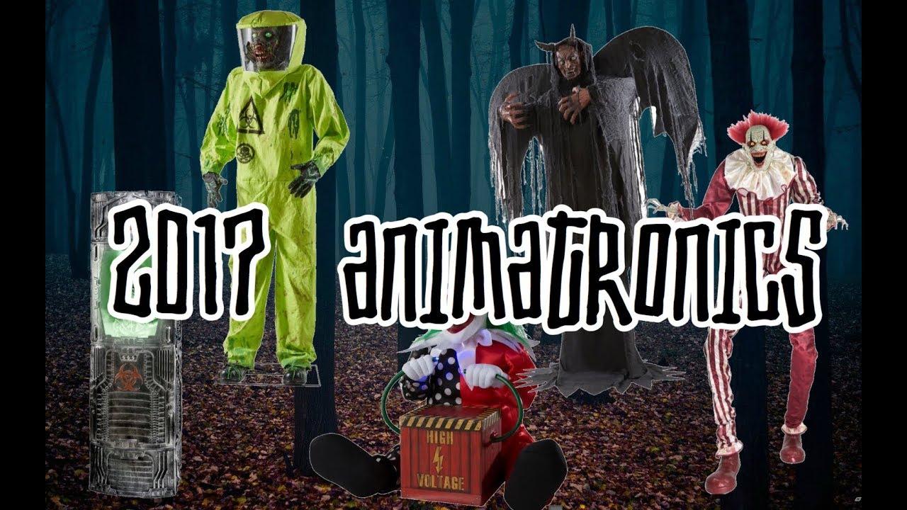 Spirit Halloween 2017 Animatronic Characters High Quality You