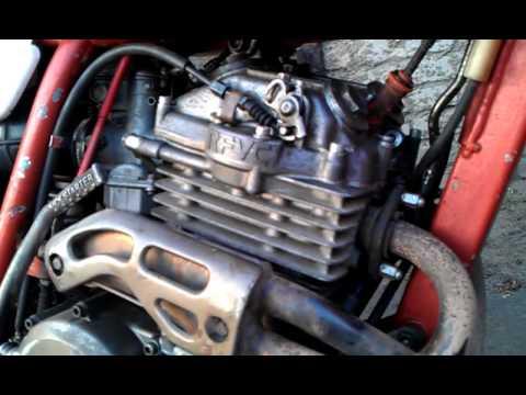 Honda XR250R 1989