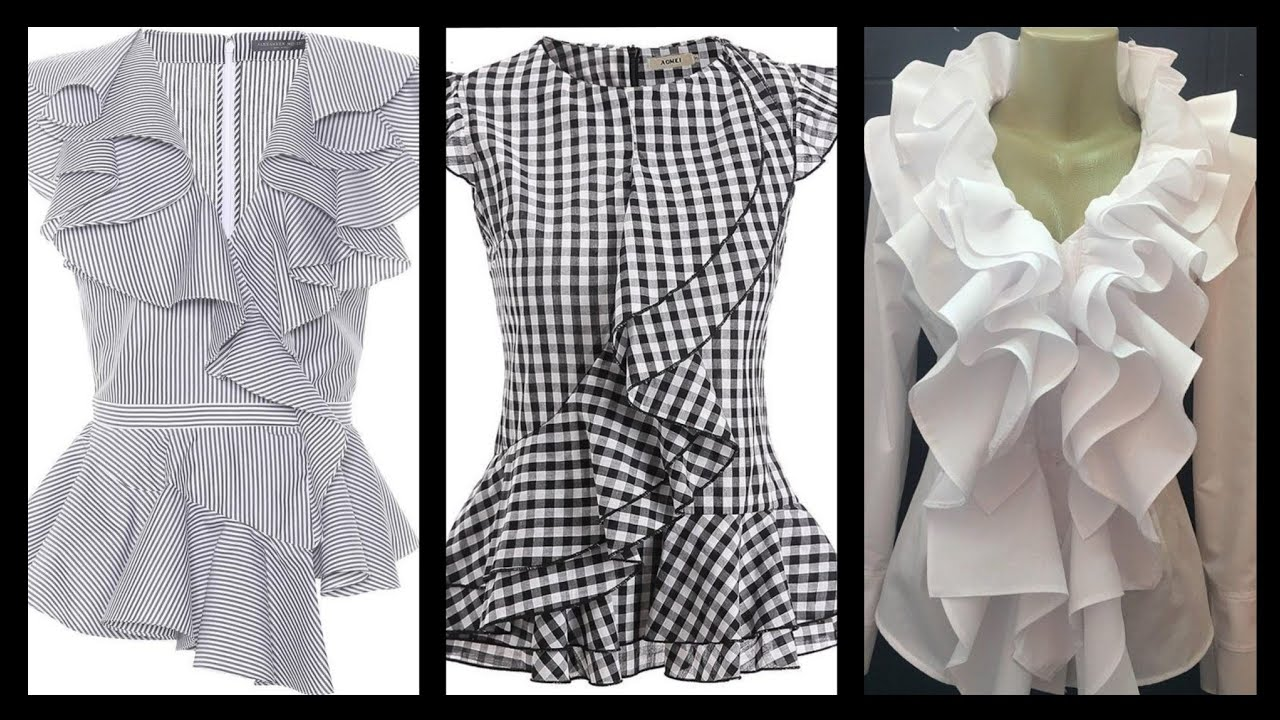 [VIDEO] - casual wear Ruffle Sleeves Design And Ideas - winter Ruffle Sleeves Design For Tops And Blouses 2
