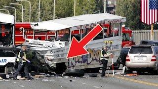 Seattle duck tour car crash: front axle of amphibious vehicle was
