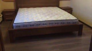 Спальня из массива ясеня в стиле модерн.(Furniture,cabinet).(Прямые правильные формы мебели из натурального дерева могут преобразить даже маленькую комнату. Мебельные..., 2015-12-01T22:12:28.000Z)