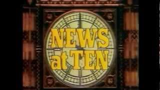 ITV News At Ten Throughout The Ages