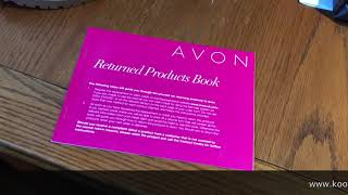 How to Process A Return as an Avon UK Representative