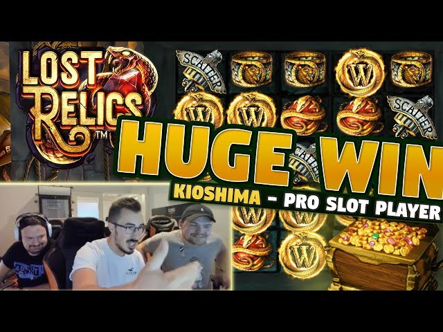Big Win Lost Relics - 5 euro bet - Casino With KioShiMa (k1o) from LIVE stream