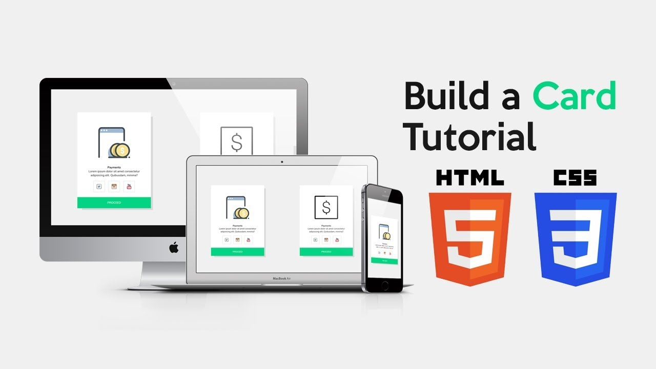 Responsive Contact Us Section Html And Css Tutorial