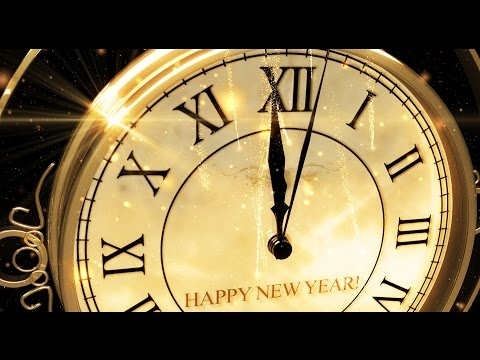 Happy New Year CLOCK 2019 ( v 473 ) Original Countdown Timer with Sound Effects + Voice 4K