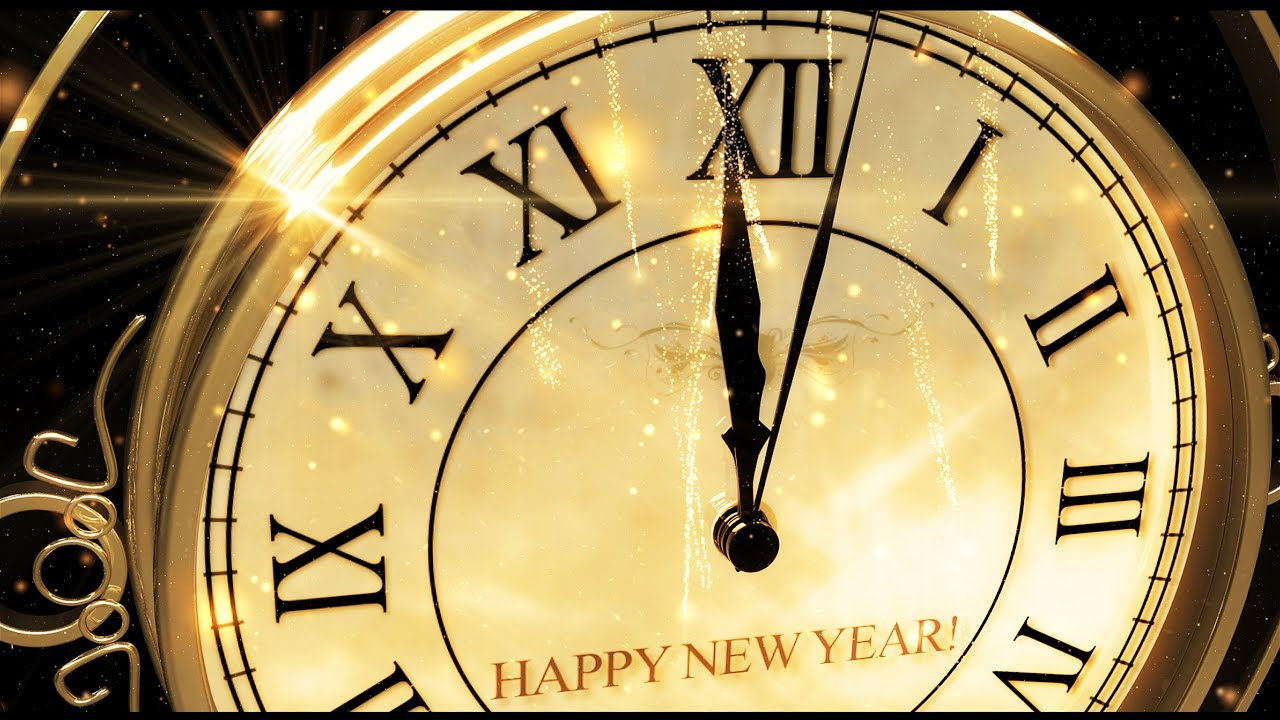 Happy New Year Clock 2016 ( v 473 ) Countdown Timer with Sound Effects ...