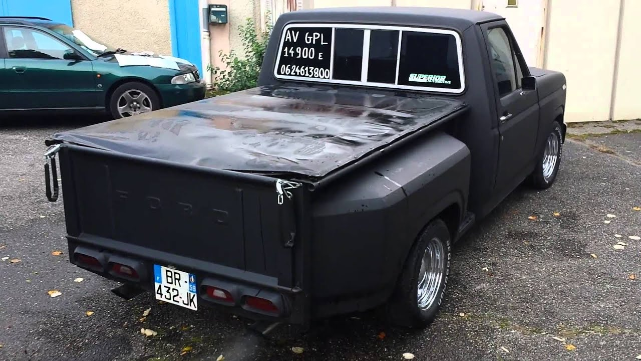 pick up ford f 100 1980 a vendre sur bon coin youtube. Black Bedroom Furniture Sets. Home Design Ideas