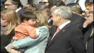 nino malas pulgas golpea en el rostro al presidente pinera terra tv