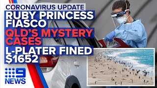 Coronavirus: Latest on Australia's cases, Cruise ship fiasco | Nine News Australia